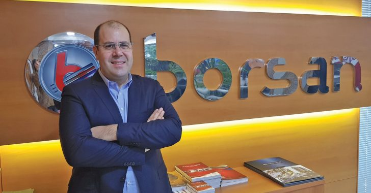 Mehmet Arbek Akay Borsan Electricity and Lighting Products Group CEO; Borsan Tarkets to Increase its export in electricity and lighting products by 50 percent