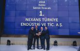 """NEXANS TURKEY HAS BEEN AWARDED AS THE """"EXPORT CHAMPION CABLE MANUFACTURER"""" ONCE AGAIN"""