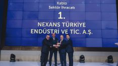 "NEXANS TURKEY HAS BEEN AWARDED AS THE ""EXPORT CHAMPION CABLE MANUFACTURER"" ONCE AGAIN"