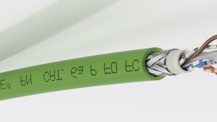 New ETHERLINE® Profinet cables from Lapp High-speed ETHERLINE® cables make assembly even easier