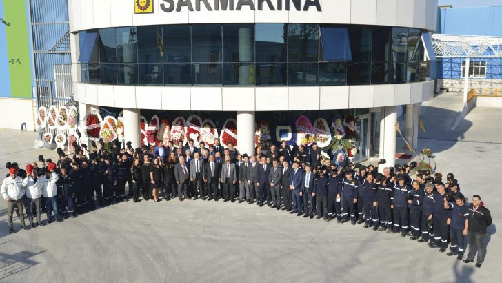 "Sarmakina Sales & Marketing Engineer Berker Yörgüç: ""Running of Sarmakina Bobbin Winders and Double Twist Bunching Machines in biggest cable and wire factories in Europa is one of the important signs which shows the level we reached"""