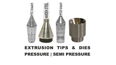 EXTRUSION TIPS & DIES BY AJEX & TURNER