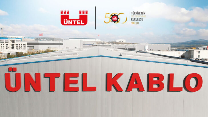 ÜNTEL KABLO TAKES PLACE IN THE ISO 500 BIG INDUSTRIAL ENTERPRISES LIST.